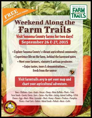 Farm Trails 2016, Sonoma County